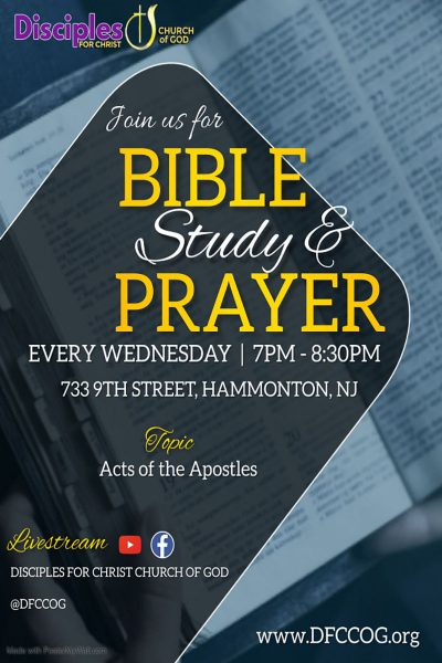 DFC Bible Study Flyer 2021